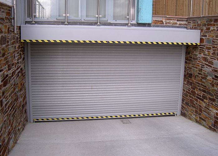 Security garage door